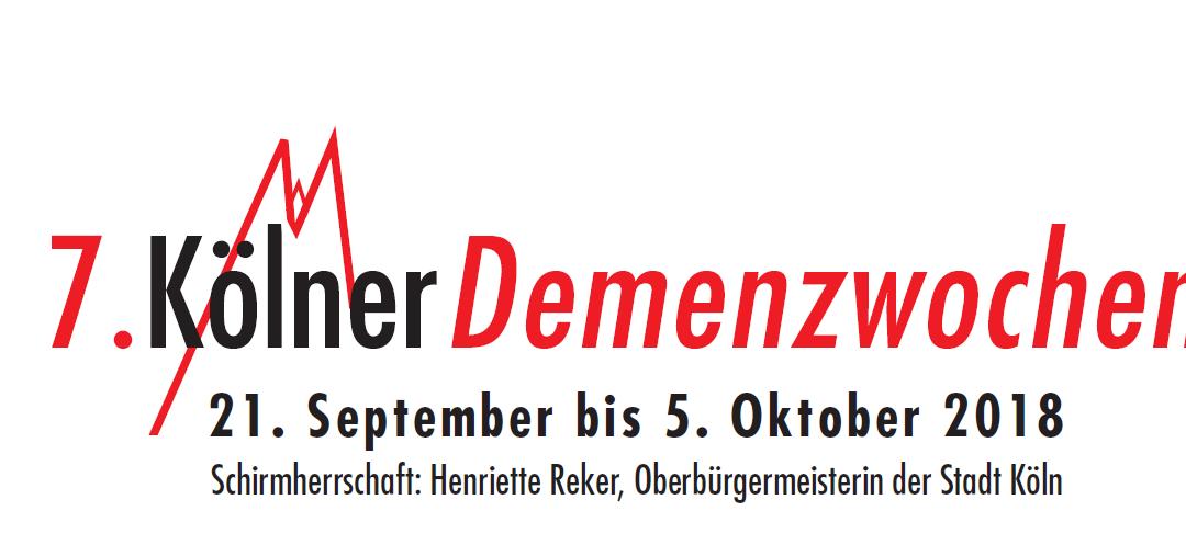 8. Kölner Demenzwochen – Infoveranstaltung zu selbstverantworteten Wohngemeinschaften am 28.09.2020