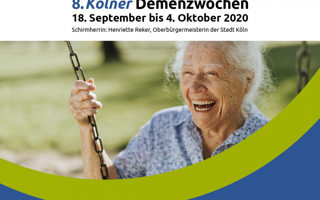 8. Demenzwochen Köln – Infoveranstaltung zu selbstverantworteten Demenzwohngemeinschaften am 28.09.2020